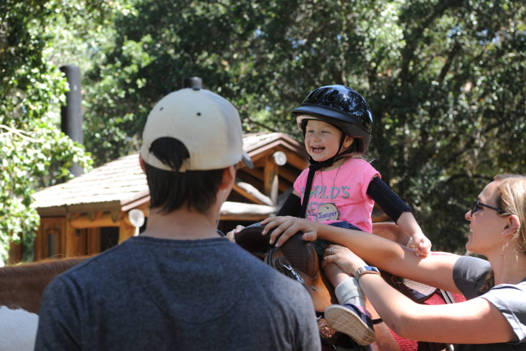 Horseback Riding at RettEd Day 2019
